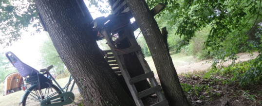Treehouse op de camping