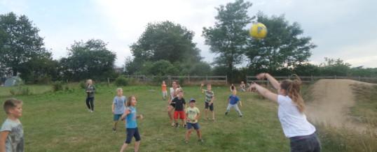 Potje voetballen in Bourgogne