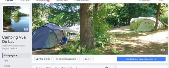 Natuur-camping te vinden op Facebook