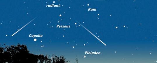 Perseïden-meteorenzwerm